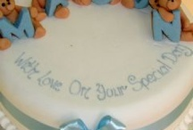 Christening and 1st birthday cakes