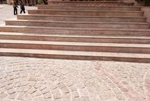 natural stone stairs stepping in India