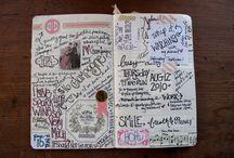 art journaling / by Susan Davis