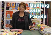 Panel quilting tutorial