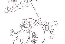 Embrodery Stitching / by Carolyn Robinson