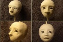 Sculpting dolls