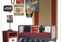 Theos new room