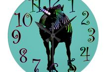 Must Have Clocks & Watches / Need to be somewhere. These cool clocks will keep you on time!