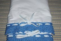 Knitted Lace Edging / Lace edging for pillowcases