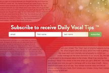 Daily Vocal Tips / www.DailyVocalTips.com