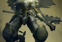 Astrgroe / Попытка формирования образов для рыцарей астргрё и их врагов