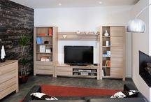 Le salon / Créez un salon à votre style, canapés, meubles TV, tables basses, bibliothèques...