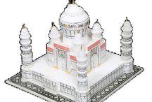 Taj Mahal Miniature (4 Inch)