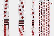 9es gyöngyhorg. minták