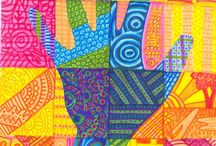 Art ideas / Teaching colour wheel ideas for art lessons grade 5/6