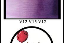 Copic purple