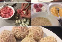 Albóndigas de huevos de codorniz