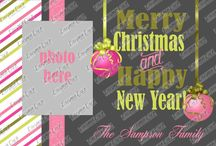 My Christmas Card Designs / by Melissa Sampson