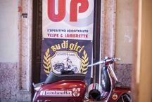 Scooter / #sudigiri #polaroid #inspirations #photographer #italy #model #ideas #instax #wide #shooting #trento #trentino #vespa #vintage #pinup #girl #fashion #scooter #lambretta