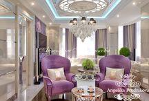 Дизайн квартиры в стиле арт-деко в ЖК «Эдельвейс». Фото интерьеров / Интерьер квартиры в ЖК «Эдельвейс» притягивает изысканностью. За основу создания такого дизайна взят стиль арт-деко. Белые и сиреневые тона вносят оригинальность в дизайн дома. А большие размеры комнат, дают жильцам свободу действий. В интерьер можно встретить множество декоративных элементов, которые делают квартиру уникальной.