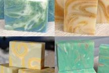 diy soap, scrubs and cleaning products