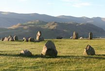 Castlerigg Stone Circle / Castlerigg Stone Circle, Keswick commands a superb 360 degree view over the surrounding fells.