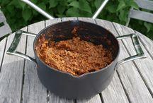 Vegetarisk crock pot