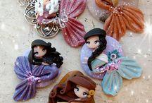Sirenas decorativas