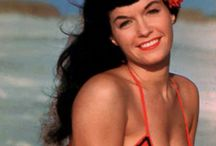 The Beautiful Bettie Page.