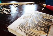 visual art: printing / by Prix Madonna