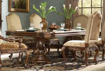 Dining Room Ideas-Furniture and ceilings
