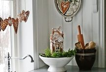 Christmas / Christmas decoration. Christmas inspirations. Scandinavian style.