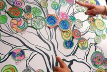 Collaborative art with kids