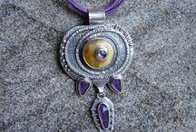 Duda Joanna i Krystian, Rivendell / www.facebook.com/rivendell.jewellery www.bizuteriarivendell.rivendell.wroc.pl/ #metalclay #metalart #jewelry