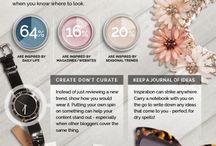 Creative Tech / Blogging / My website inspiration