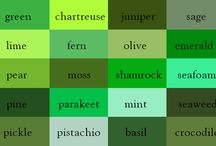 Shades of Green to describe heroes' eyes for my books / unique ways to describe green eyes / by Shannon Taylor Vannatter