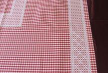 toalha vermelha fácil