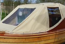 canvas boat cover, marine upholstery by www.kraatarialenius.fi since 1981. Veneverhoilut, -kuomut vuodesta -81