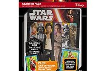 Star Wars / Trading cards, stickers and collectibles based on the latest Star Wars film.