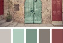 Color themes and palettes