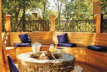 Outdoor fire / Fire pit