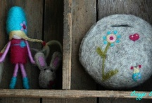 Meseems Dolls - Needle Felted Decorations and Toys