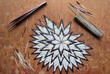 porcupine quill work