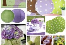 Purdy Party Plans / by Lori Dore'