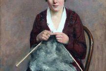Maleri strikk