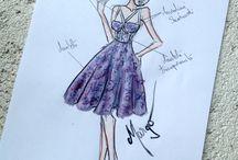 Pastel purple, bold design / Cele mai importante aspecte in alegerea unei rochii raman silueta, locatia, dress code-ul impus dar mai ales personalitatea. Ana Maria si-a ales o rochie realizata pe comanda, dupa un design unic, indraznet, feminin si seducator!
