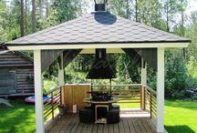 Polar Grill / De Finse terrashaard en barbecue in één.