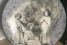 Vintage Christmas / Karácsonyi készülődés