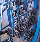 Clamps / A range of clamps are available to hire from HSS for different applications   #hss #hsshire #toolhrie #equipmenthire #clamps #clamping #clamphire #robot