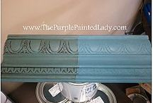 Chalk Paint Blues and greens