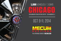 Chicago 2014 / Mecum's Chicago 2014 auction will be held this October 9-11 at the Schaumburg Convention Center in Schaumburg, Illinois, featuring 1,000 classic and collector cars.