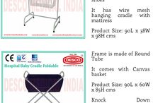 Hospital Baby Cradle / With the help of team of experts, we are able to offer a comprehensive range of Baby Cradle that is manufactured using high grade raw material procured from reliable vendors.