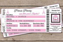Convite Festa de 15 anos