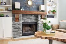 Fireplace Ideas / AirStone fireplace ideas